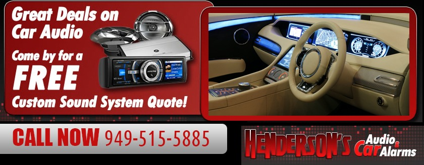 Car Audio Shop Costa Mesa | Henderson's Car Audio